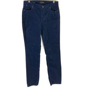 Hi Waisted Flawless 5 Pocket Velvet Jeans 6